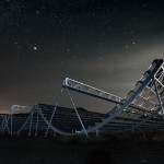 Canadian Science Minister installs the final piece of Canada's newest and largest radio telescope