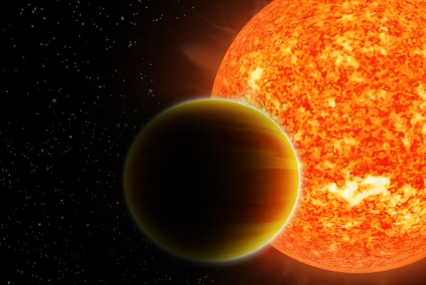 Astronomers find unexpected lack of water vapour on hot Jupiters