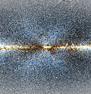 X Marks the Spot at the Centre of the Milky Way Galaxy