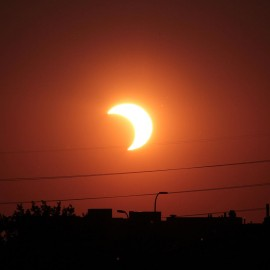 Solar Eclipse at the CNE
