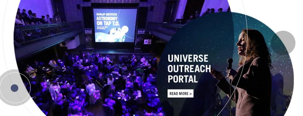 Click for U of T astronomy outreach portal