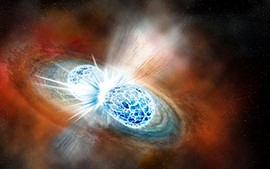 Astronomers First to See Source of Gravitational Waves in Visible Light