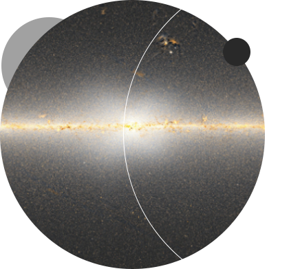 """Dr. Dustin Lang and his colleague uncover the strongest evidence yet that an <a href=""""http://www.dunlap.utoronto.ca/x-marks-the-spot-at-the-centre-of-the-milky-way-galaxy/"""">enormous X-shaped structure</a> made of stars lies within the central bulge of the Milky Way Galaxy. <br /> <br /><span style=""""font-size:75%;""""><em>Credit: Dr.  Dustin  Lang;  Dunlap  Institute</em></span>"""