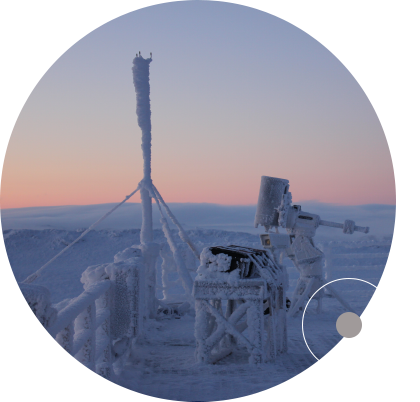 """Dunlap scientists, led by Dunlap Fellows Dr. Nick Law, Dr. Jérome Maire and Dr. Suresh Sivanandam, study the feasibility of an astronomical observatory at the Polar Environment Atmospheric Research Laboratory on Ellesmere Island in the Canadian High Arctic. <br /> <br /><span style=""""font-size:75%;""""><em>Credit: Dr. Jérome  Maire;  Dunlap  Institute</em></span>"""