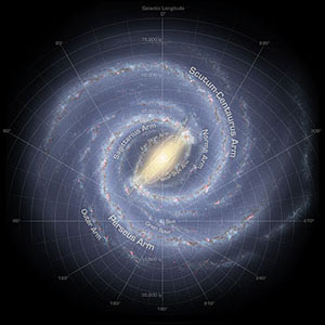 Speeding Stars Are Evidence Our Galaxy's Spiral Arms Will Disappear