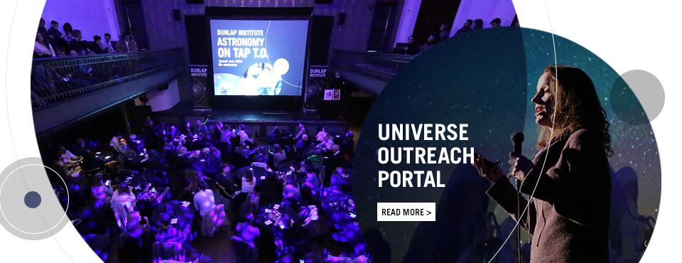 Universe Outreach portal